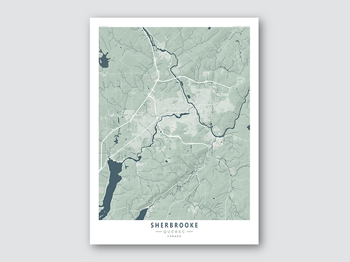 SHERBROOKE Grey-Blue