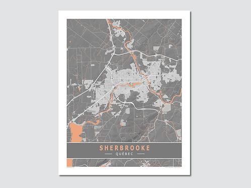 """SHERBROOKE Grey-Orange """"Sp"""""""