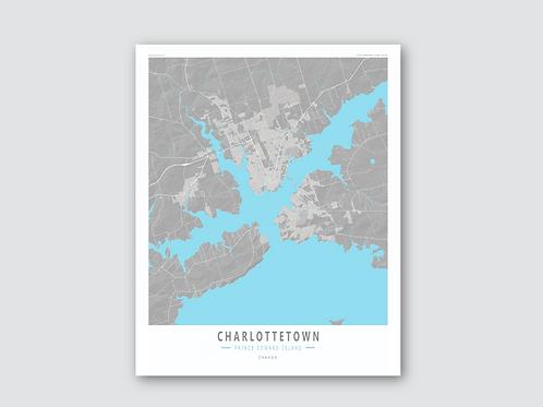 CHARLOTTETOWN Grey-Cyan