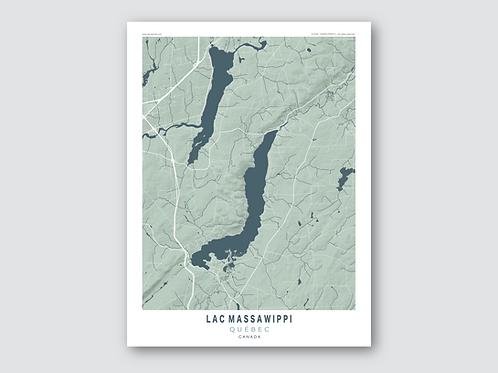MASSAWIPPI Lake - Grey-Blue