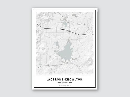 LAC BROME - KNOWLTON White