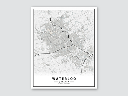 WATERLOO - White