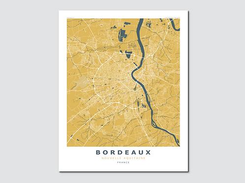 BORDEAUX Yellow-Blue