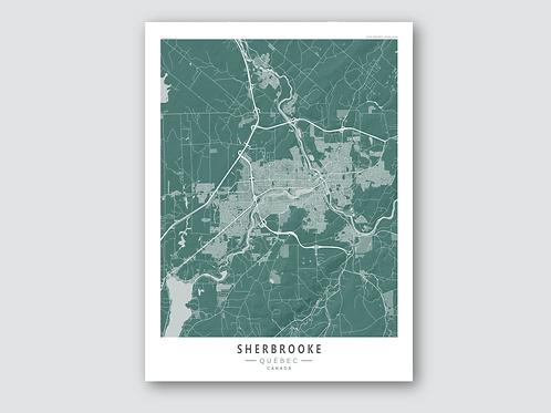 SHERBROOKE Green-Grey