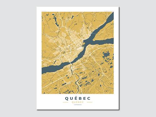 QUEBEC Yellow-Blue