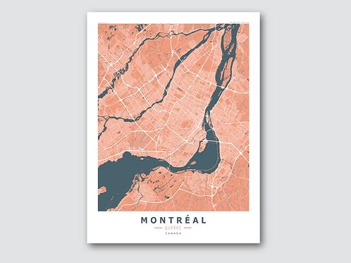 MONTREAL Orange-Blue