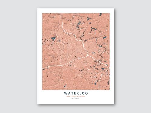 WATERLOO - Orange-Blue
