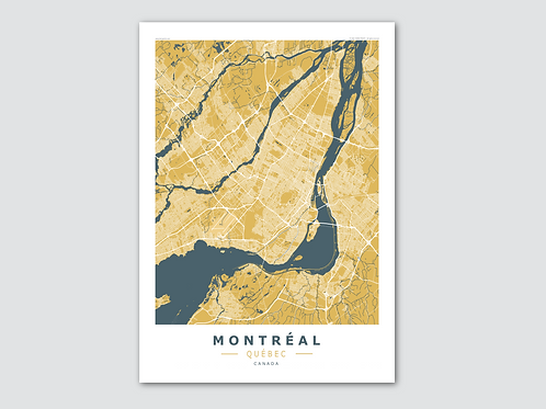 MONTREAL  Yellow-Blue