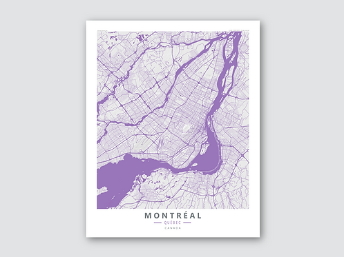 MONTREAL Purple