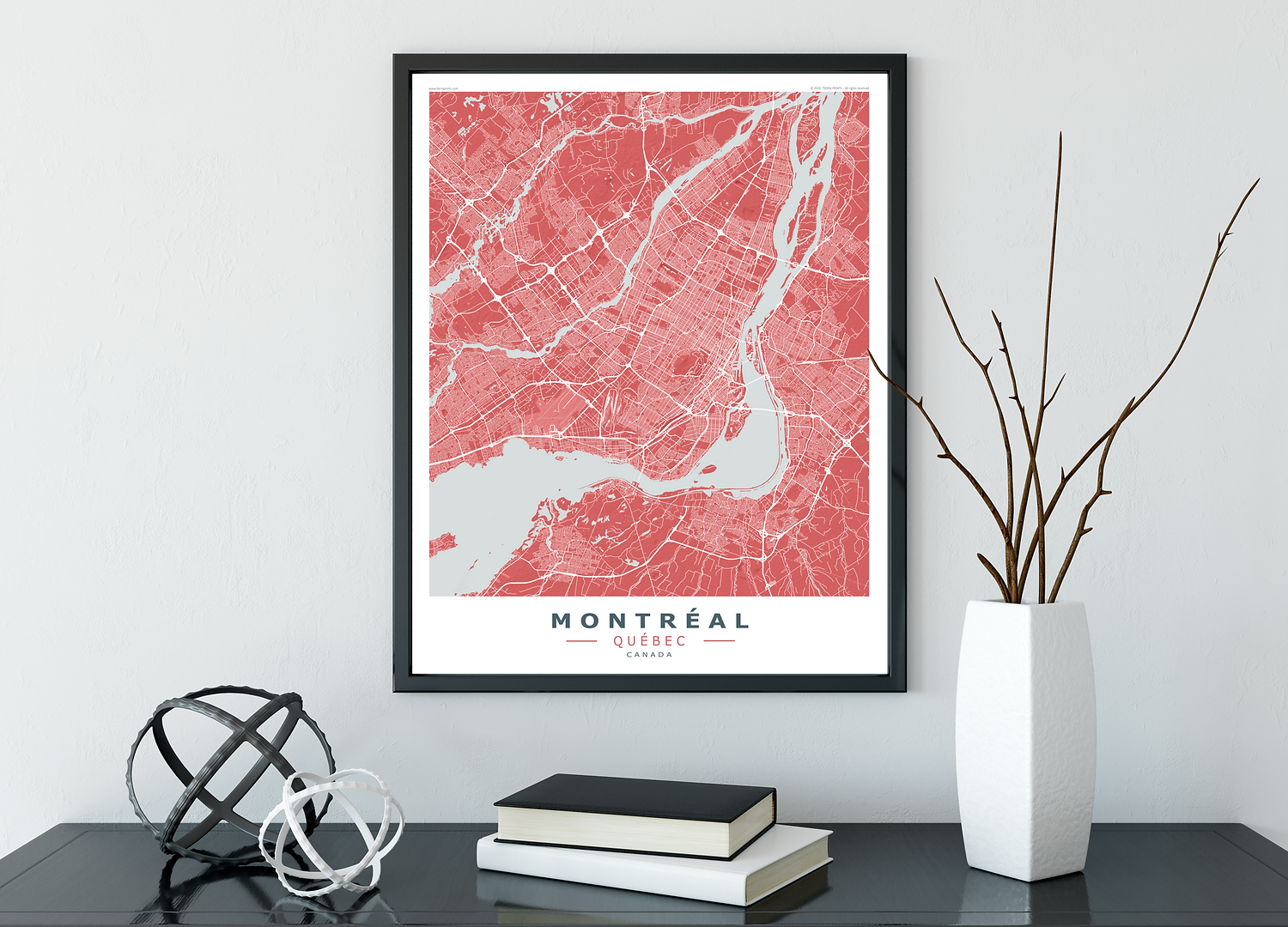 MONTREAL Red-Grey