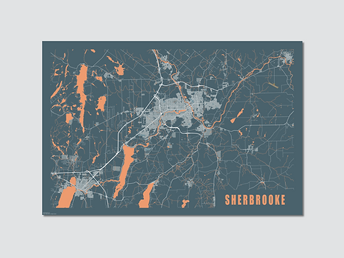 "SHERBROOKE Blue-Orange ""Sp"""