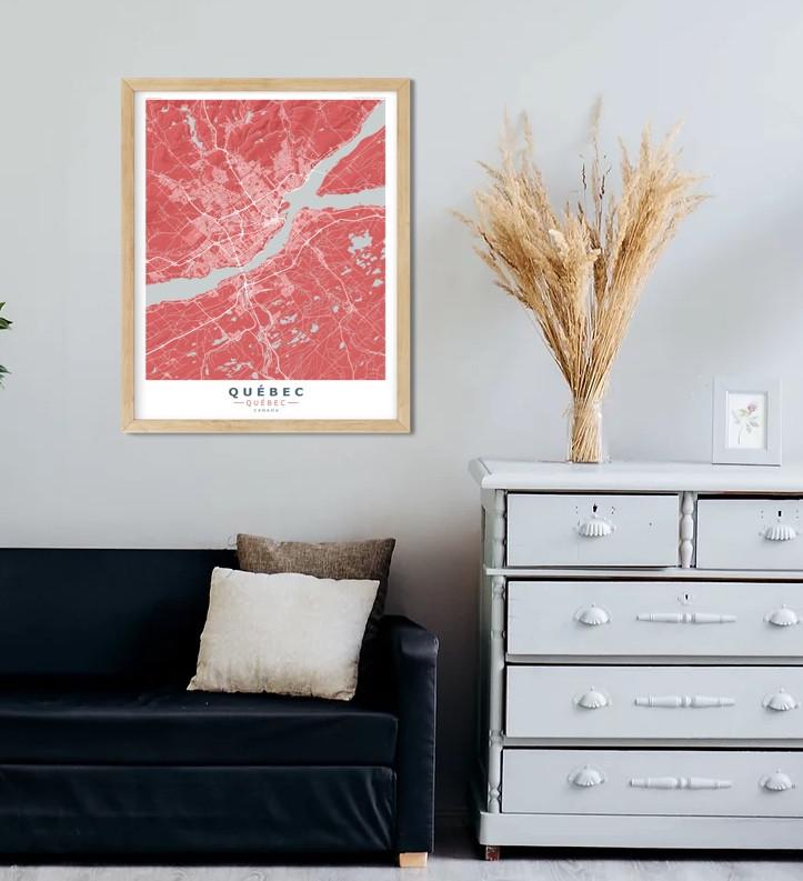 QUEBEC Red-Grey