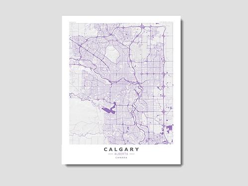CALGARY Purple