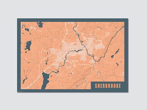 "SHERBROOKE Orange-Blue ""Sp"""