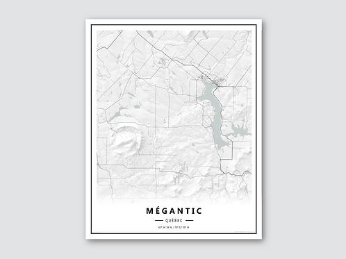 MEGANTIC White