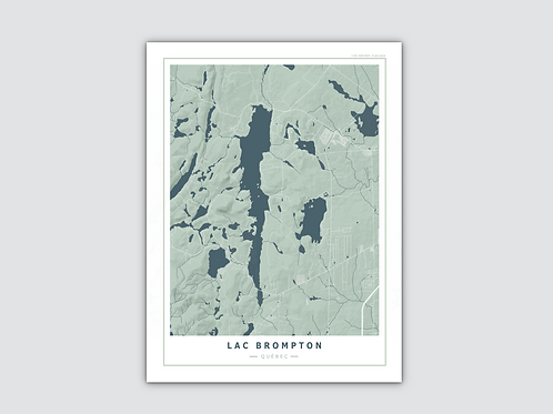 LAC BROMPTON Grey-Blue