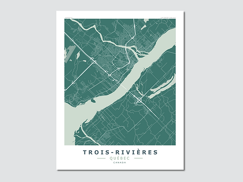 TROIS-RIVIERES  Green-Grey
