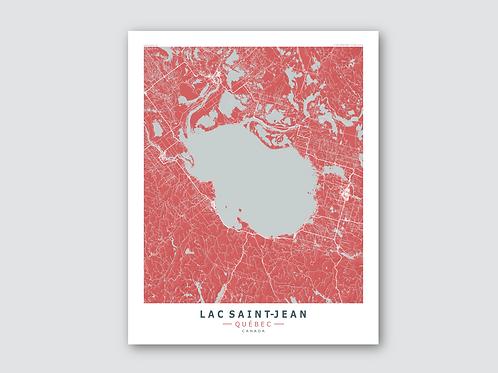 LAC SAINT-JEAN Red-Grey