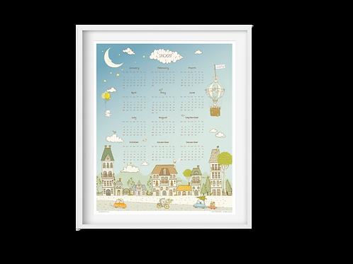 Calendar 2021 - Magic Town