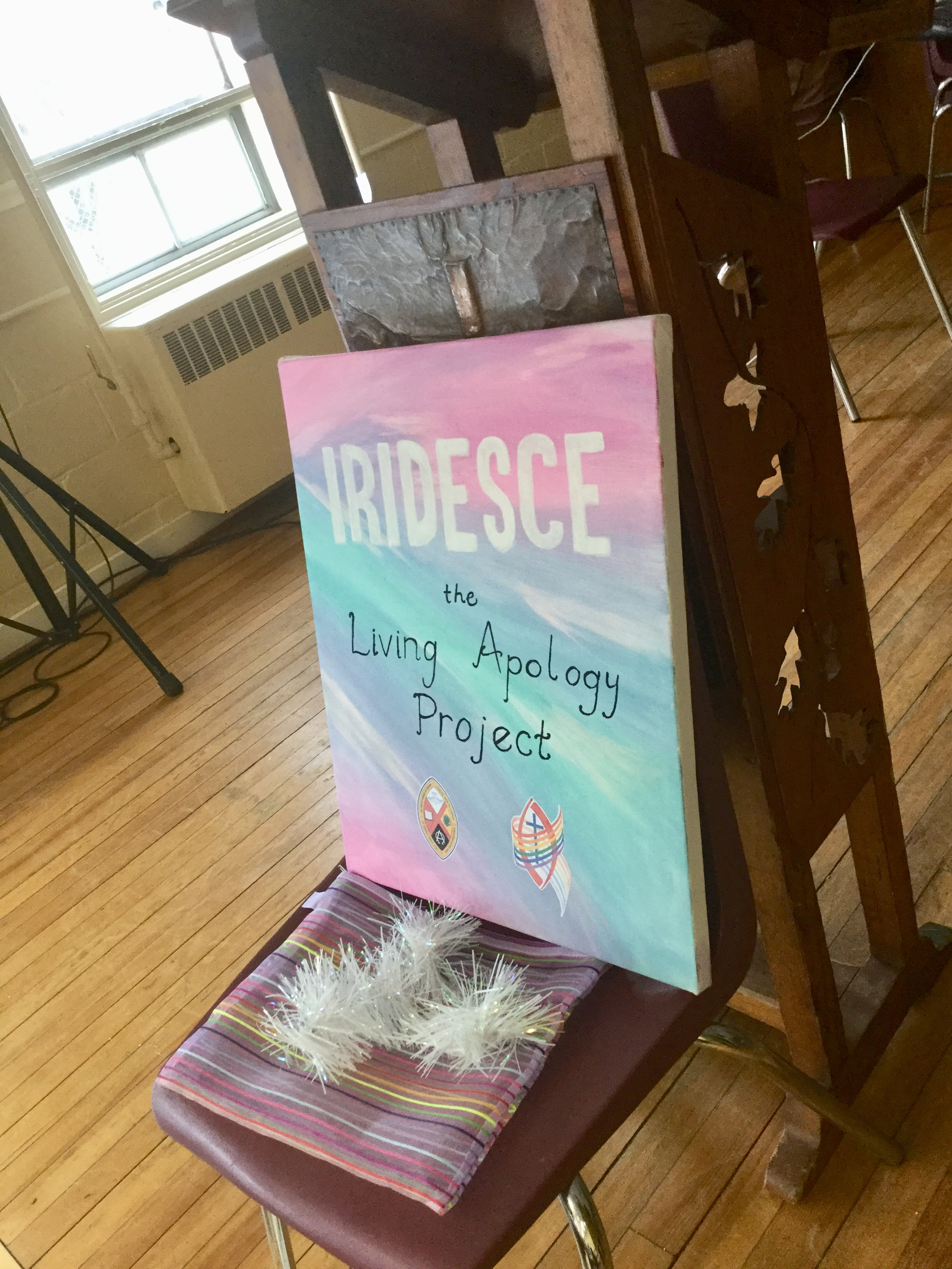 iridesce poster at youth forum