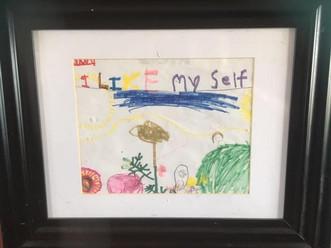 """Artwork: """"I Like Myself"""""""