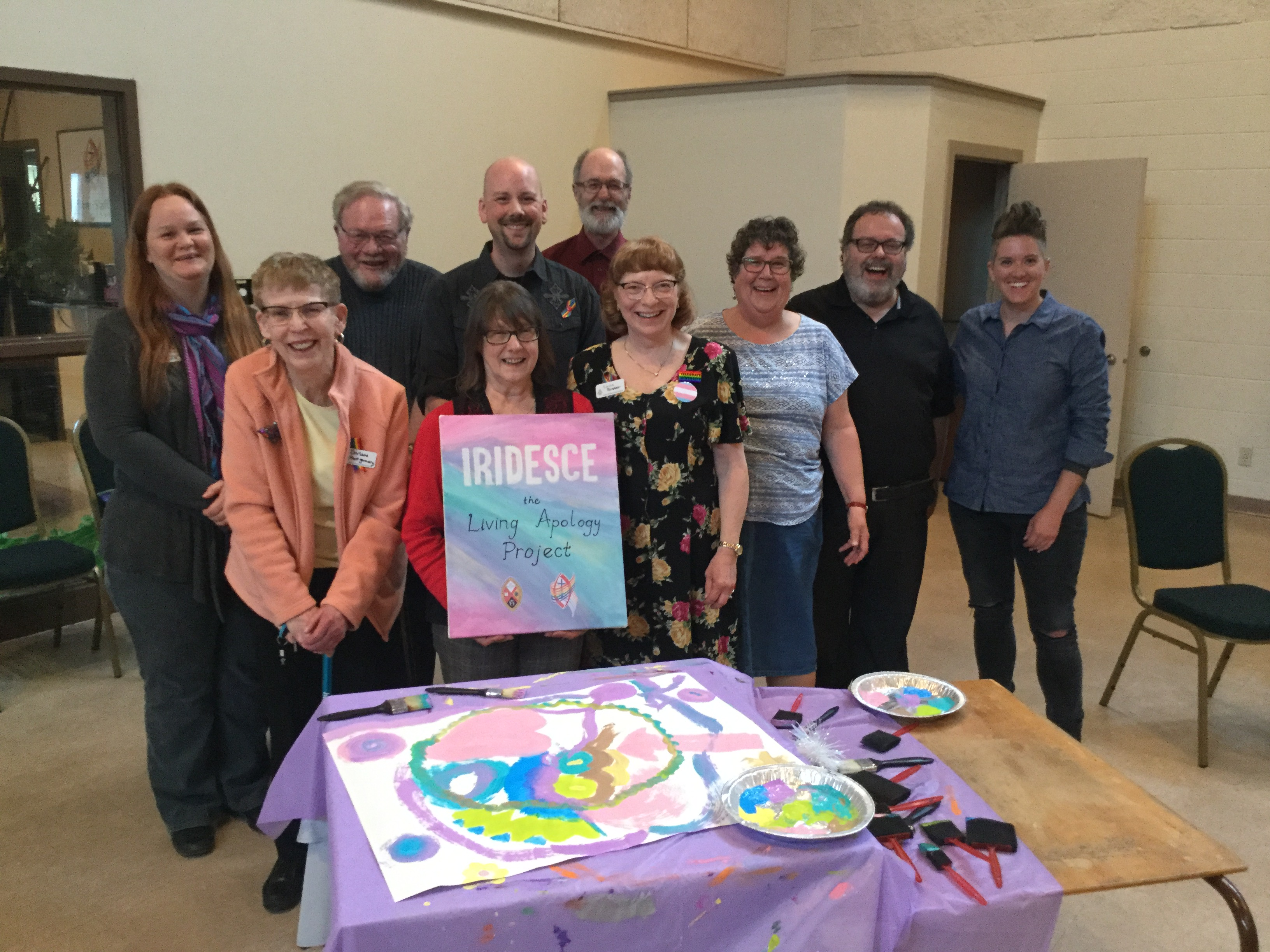 iridesce workshop hosted by McClure United Church Calgary