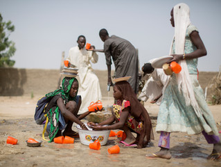 Lake Chad Shrinks; Famine Grows