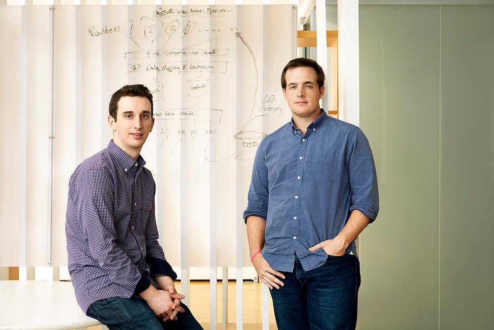 (L-R): Flatiron Founders - Zach Weinberg and Nat Turner