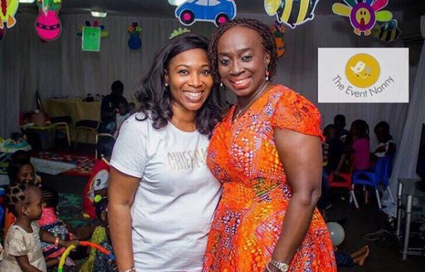 Olufunmilayo Gombe (L) - Founder The Event Nanny