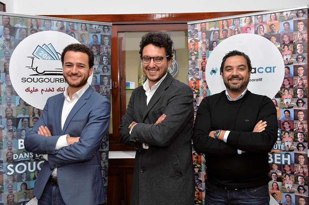 Hooplacar Founders:  Salmane Berraoui, Mehdi benayad, Jounaid Anasse