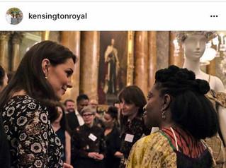 Entrepreneur-designer, Nkwo, meets Kate Middleton, the Duchess of Cambridge