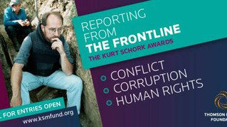 Apply for the $5,000 Kurt Schork Awards in International Journalism