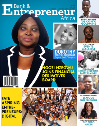 April 2018: Bank & Entrepreneur features leading lady + Instagram entrepreneurs