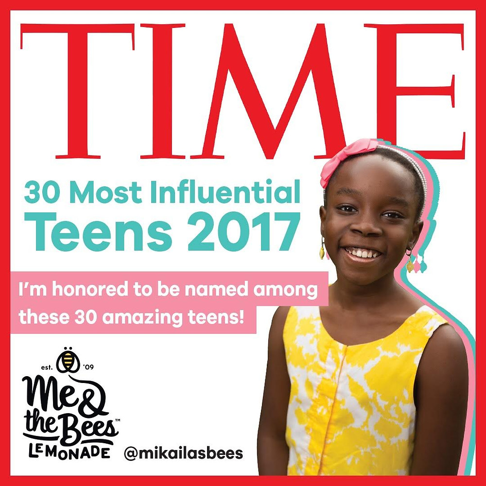 Mikaila Ulmer (Founder of Me & the Bees Lemonade)