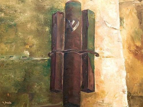 Judaica Painting - Mezuzah