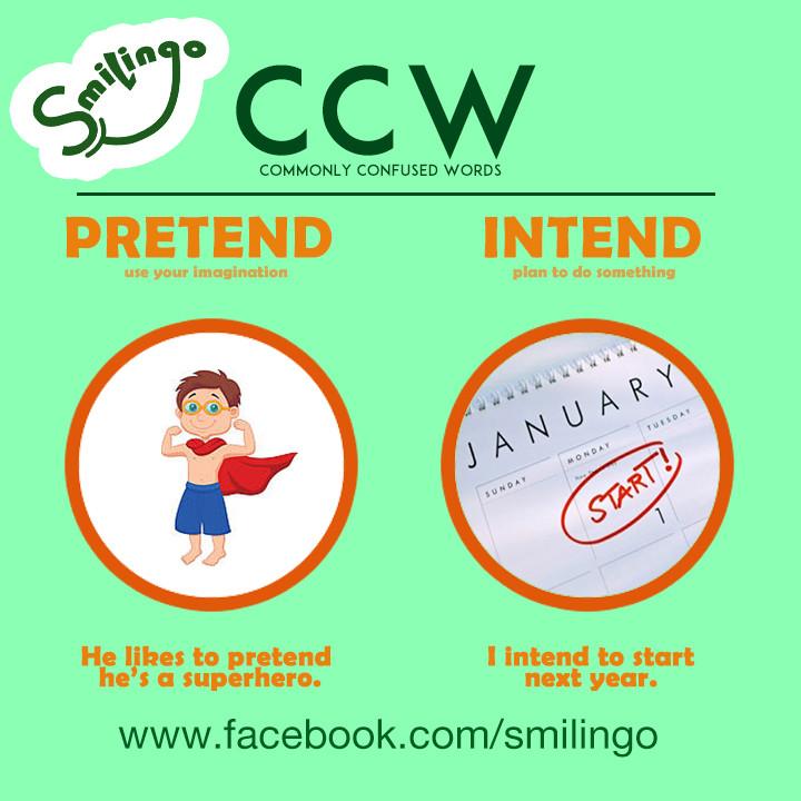 CCW pretend intend