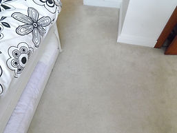 carpet after cleaning in bedroom Stowmarket.