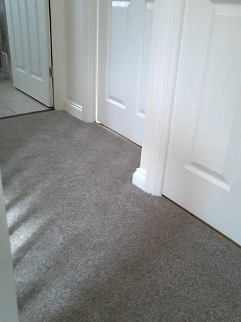 Carpet on landing in Stowmarket