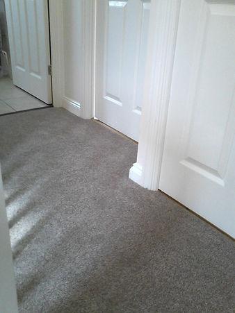 Carpet on landing in Stowmarket