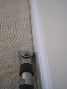 cleaning edge of carpet in Stowmarket