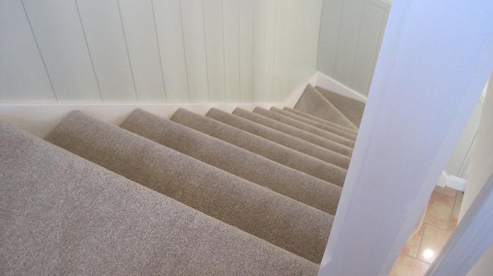 Carpet on stairs in Stowmarket Suffolk