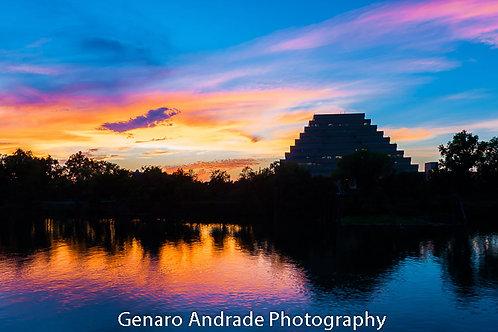 """""""Pyramid Sunset"""""""