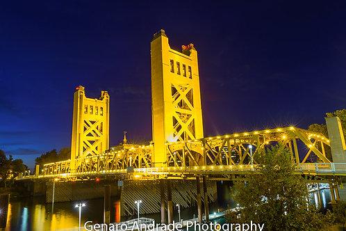 """""""SacramentoTower Bridge"""""""