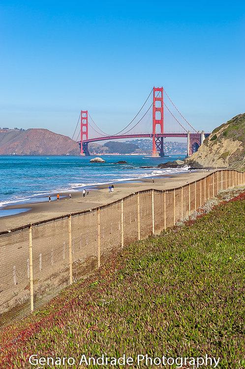 """Golden Gate Bridge 2, Bakers Beach"""