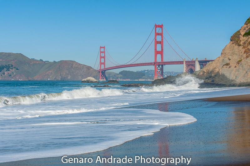 """Golden Gate Bridge 1"" Bakers Bridge"