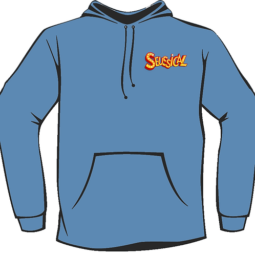 Seussical Blue Youth Hoodie