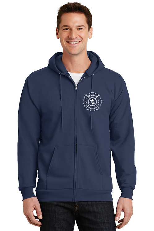 TFD Ladies Full Zip Hoodie
