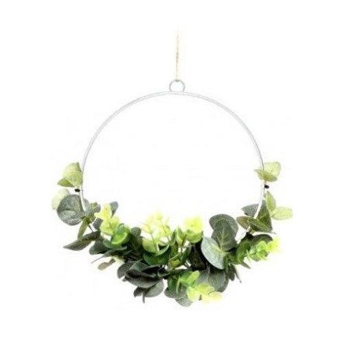 Entwined Eucalyptus Wreath