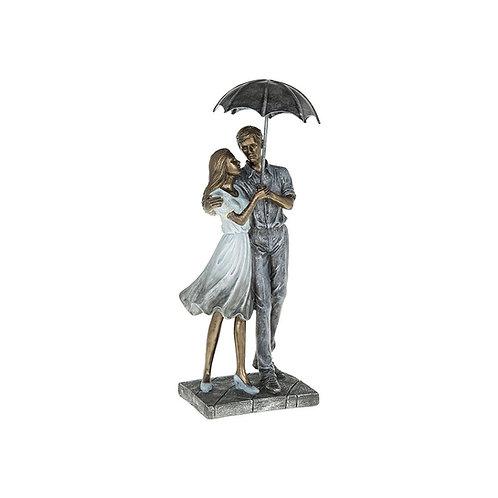 Rainy Day Romance Strolling Figures