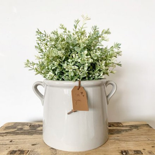 For You Grey Pot